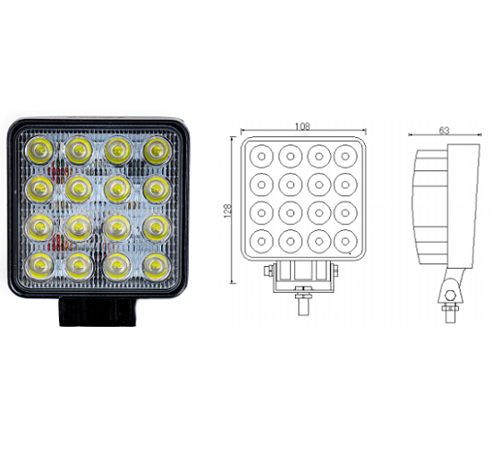 Fotografija izdelka Delovna luč LED - 43 W, KAMAR