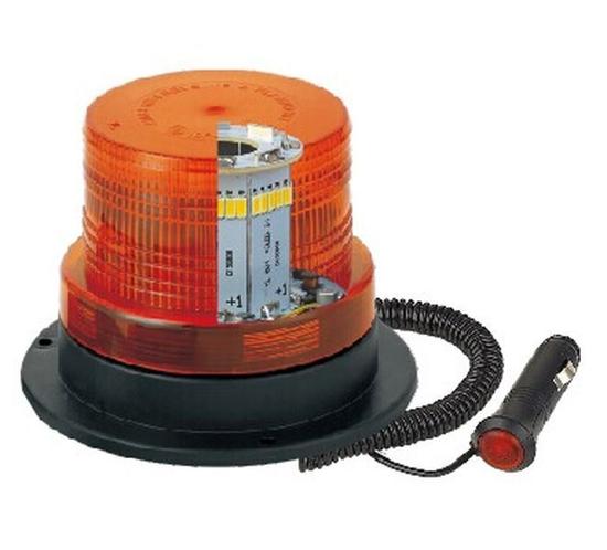 Rotacijska luč LED, magnetna