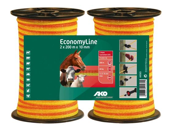 TRAK EconomyLine (10 mm, 2 x 200 m)
