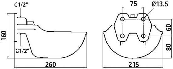 NAPAJALNIK GUS G51 cevni ventil