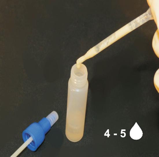 Fotografija izdelka Hitri test za drisko pri govedu
