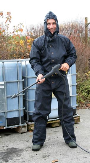 Fotografija izdelka Zaščitna obleka s kapuco - M