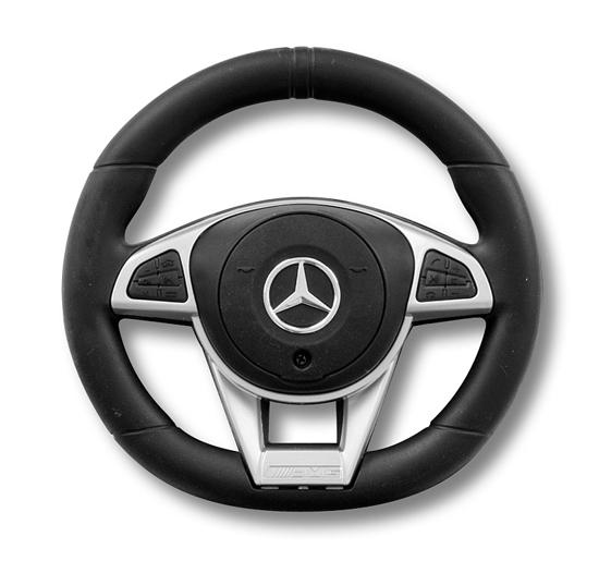 Fotografija izdelka Otroški POGANJALEC Mercedes - AMG C 63 Coupe Black