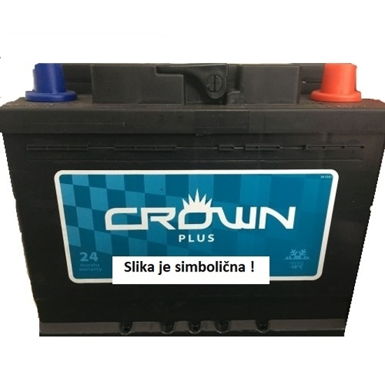 Fotografija izdelka Akumulator 100 Ah 840 A, D+,  CROWN PLUS, TOPLA
