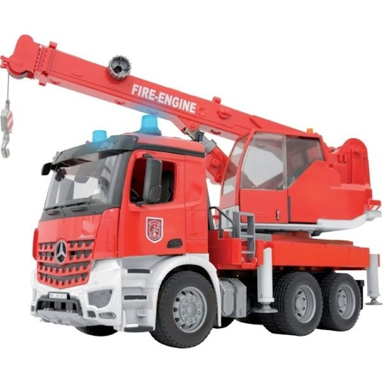 Fotografija izdelka Igrača Gasilski tovornjak MB Arocs, BRUDER