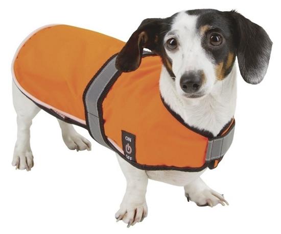 Fotografija izdelka Odsevni plašč za psa Maxi Safe - L