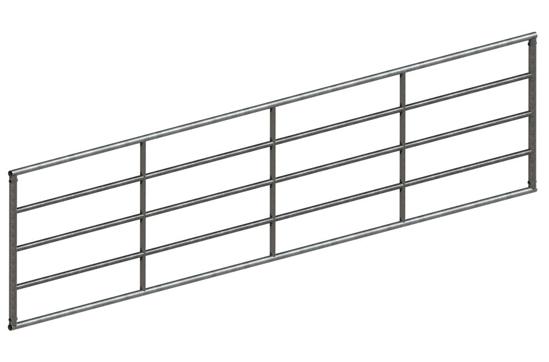 Fotografija izdelka Panelna vrata 100 cm x 5 m, pocinkana