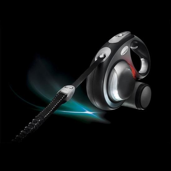Fotografija izdelka Flexi LED lučka za povodec