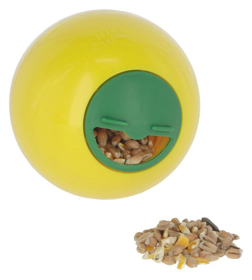 Fotografija izdelka Žoga za prigrizke, rumena