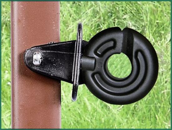 Fotografija izdelka Izolator okrogli z zarezo za kotno palico