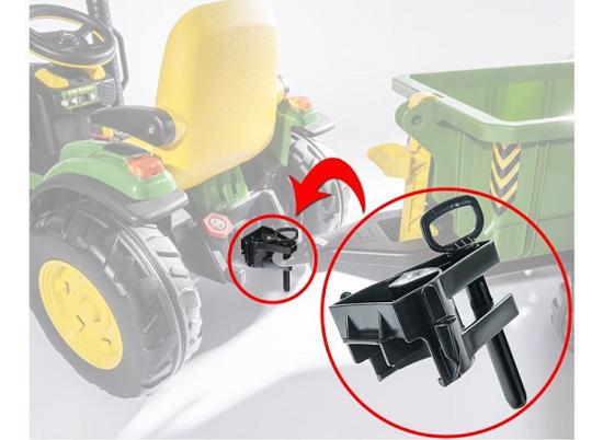 Fotografija izdelka Igrača ADAPTER za Rolly igrače, združljiv s traktorji Peg Perego