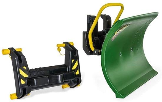 Fotografija izdelka Igrača Snežni plug  Snow Master - Rolly Toys zelene barve