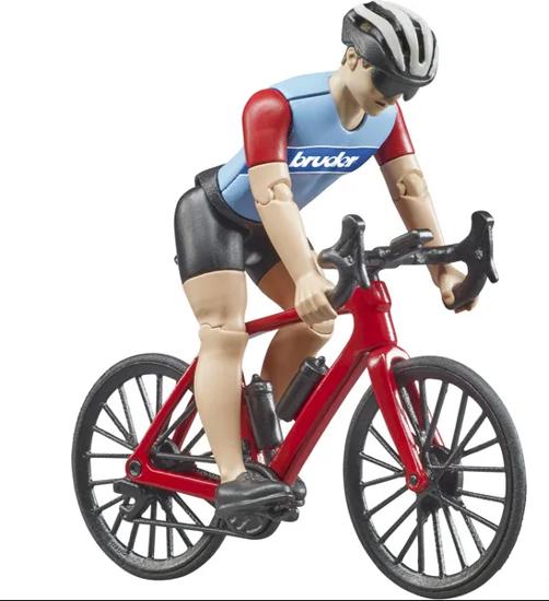 Fotografija izdelka Igrača Cestno kolo s  kolesarjem