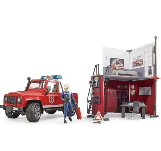 Fotografija izdelka Igrača Gasilci z avtomobilom Land Rover