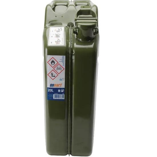 Fotografija izdelka Kovinski kanister za gorivo 20 l