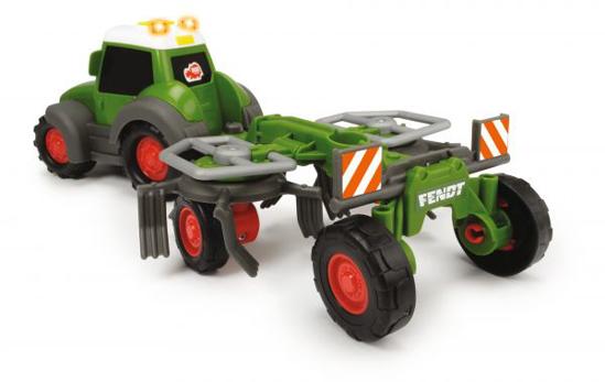 Fotografija izdelka Dickie Toys Igrača Fendt  z obračalnikom
