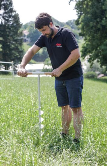 Fotografija izdelka Ročni sveder za zemljo FI 150 mm Kerbl
