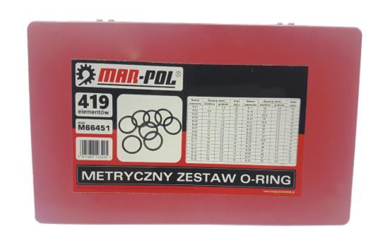 Fotografija izdelka O ring tesnila SET 419 kosov Marpol