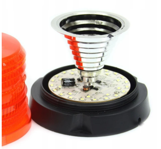 Fotografija izdelka Luč rotacijska  LED magnetna 10-30V Marpol