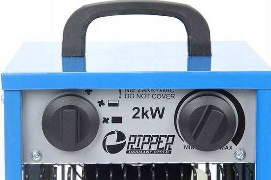 Fotografija izdelka Električni RIPPER grelnik 2 KW