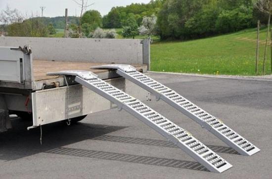 Fotografija izdelka Nakladalni rampi zložljivi 2 m pocinkani