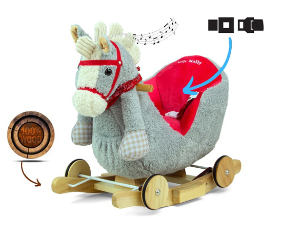 Fotografija izdelka Otroški GUGALNIK konj  2 v 1, MILLY MALLY