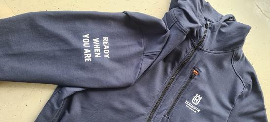Fotografija izdelka Husqvarna pulover s kapuco XL