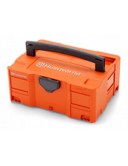 Fotografija izdelka Baterijski set Husqvarna PRO II. QC500+BLi300+škatla