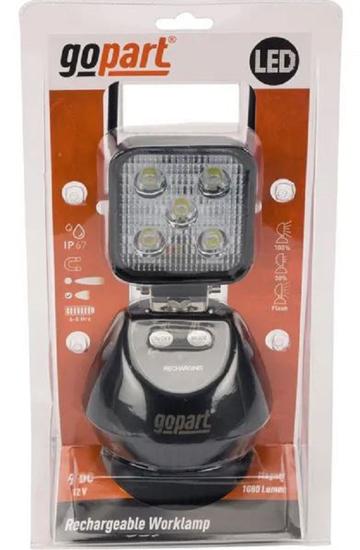 Fotografija izdelka Delovna luč LED akumulatorska s polnilcem; več funkcij