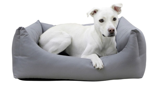 Fotografija izdelka Postelja za pse Oxford Place -  siva 85 x 70 x 27,5 cm, KERBL