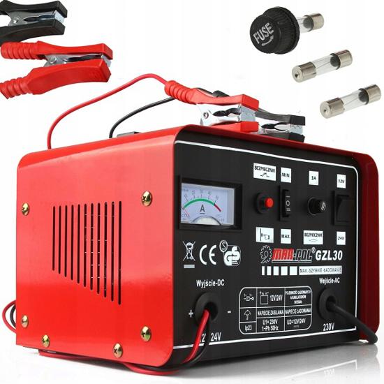 Fotografija izdelka Polnilec za akumulator 12/24V  GZL-30