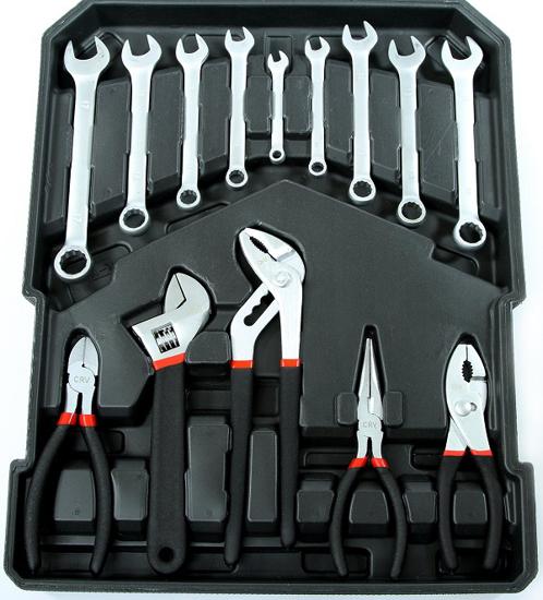 Fotografija izdelka Komplet orodij v kovčku