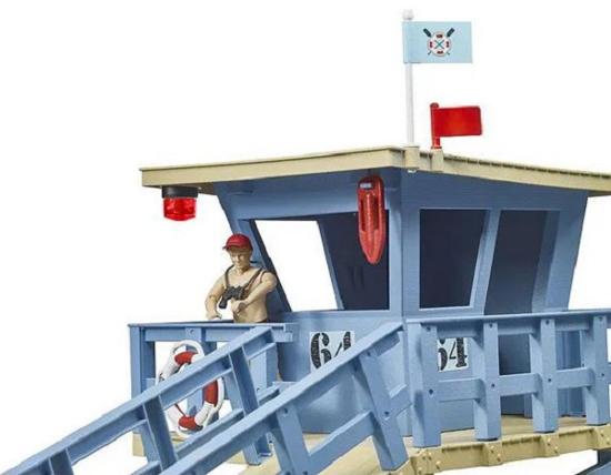 Fotografija izdelka Igrača reševalna postaja z dodatki