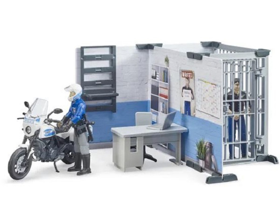 Fotografija izdelka Igrača policijska postaja z  dodatki
