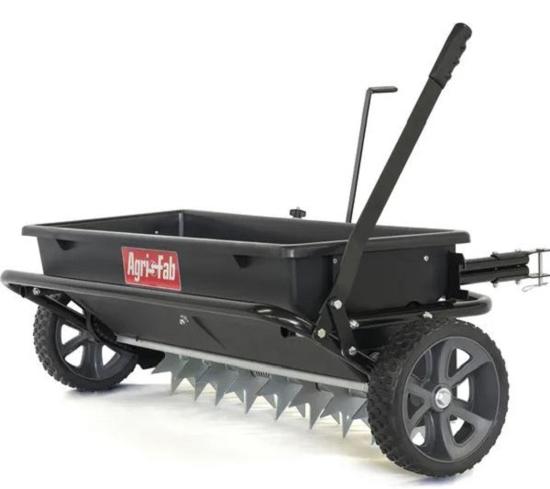 Fotografija izdelka Priključek za vrni traktor Posipalec