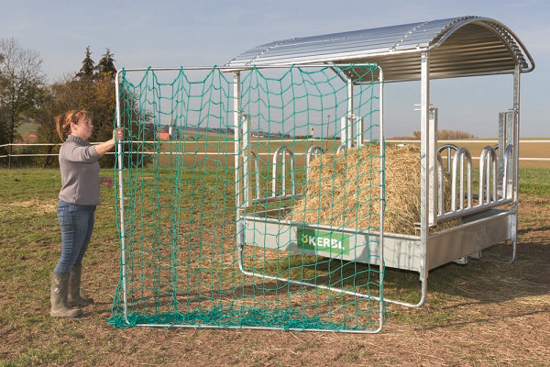 Fotografija izdelka Mreža za krmljenje živali 2,8 x 2,8 m