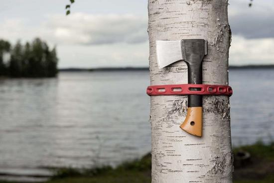 Fotografija izdelka Trak za pritrditev gumijast 110 cm 2 kos