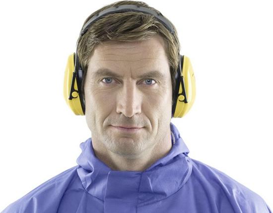 Fotografija izdelka Slušalke za zaščito sluha Peltor Optime I, KERBL