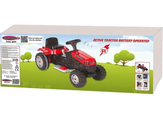 Fotografija izdelka Igrača traktor Jamara 6V Strong Bull